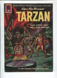 TARZAN #125 1961-DELL-EDGAR RICE BURROUGHS-VF