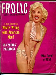 Frolic 4/1954-Maria Stringer-Betty Bettie Page-cheesecake-swimsuit-VG