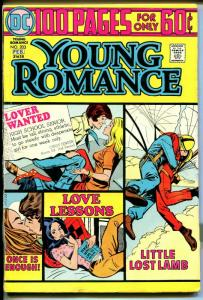 Young Romance #203 1975-DC-Giant Edition-parachute cover-VG