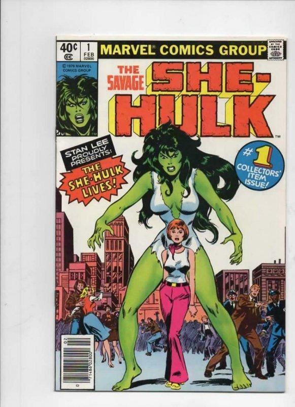 SHE-HULK #1, VF+, Stan Lee, John Buscema, 1979 1980, more Marvel in store