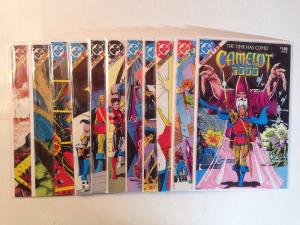 Camelot 3000 1-12 Near Mint Lot Set Run Missing #9