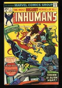 Inhumans #1 FN+ 6.5