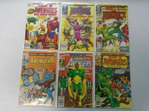 What If? lot 11 different Avengers issues avg 7.0 FN VF