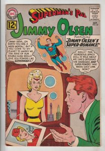 Jimmy Olsen, Superman's Pal  #64 (Oct-63) FN/VF Mid-High-Grade Jimmy Olsen