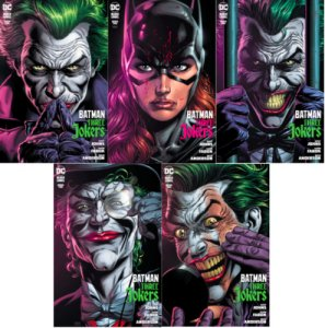 Batman Three Jokers #2 A B + Premium D E F  Fabok Set of 5 NM/NM+