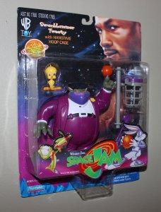 Michael Jordan Space Jam  Swackhammer, Tweety Figure MOC  1996