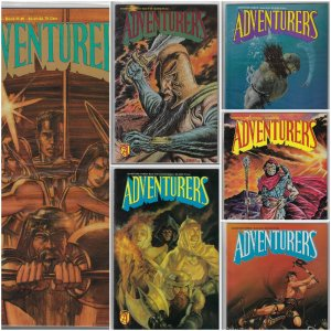 Adventurers Book II #1-6 (Adventure Publications, 1989-1990)  NM Average