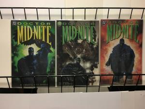 DOCTOR MIDNITE  (1999) 1-3  MATT WAGNER  COMPLETE!