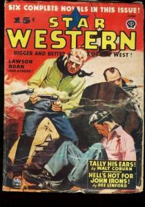 STAR WESTERN 1946 JUNE PULP ART LAWSON ESTATE COPY! VG/FN