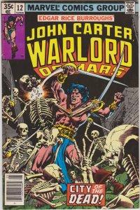 John Carter Warlord of Mars #12 (1978)