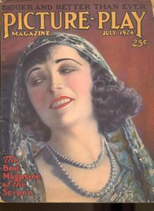 Picture Play-Pola Negri-Virginia Valli-Bill Hart-Agnes Smith-July-1924