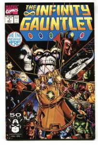Infinity Gauntlet #1 1st issue - Thanos-comic book--NM-