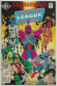 Justice League of America Index   #8 VG