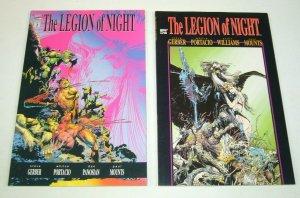 Legion of Night #1-2 VF/NM complete series STEVE GERBER whilce portacio marvel