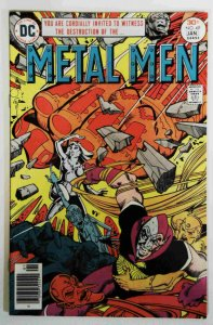 Metal Men #49 VF-  High Grade DC Comic  1976 Bronze Age Comics book