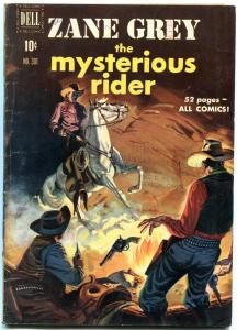 Four Color Comics #301 1950-Zane Grey's The Mysterious Rider VG