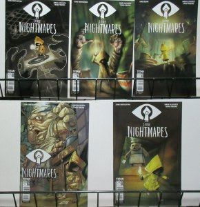 Little Nightmares (Titan Comics 2017) #1 Covers A-E Based off Bandai Video Game!