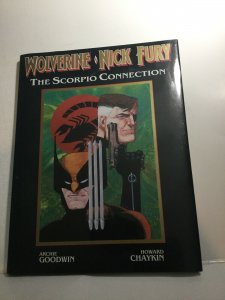 Wolverine Nick Fury The Scorpio Connection HC Hardcover Marvel Graphic Novel
