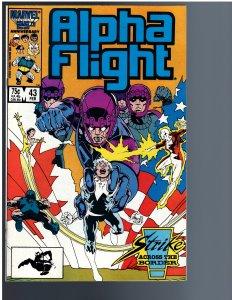 Alpha Flight #43 (1987)