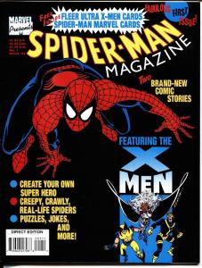 Spider-Man Magazine #1 1994 includes cards-VF/NM