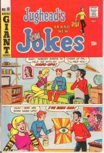 JUGHEADS JOKES (1967-1982)10 VF-NM  March 1969 COMICS BOOK
