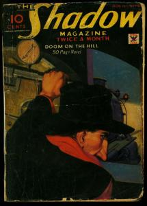 The Shadow Pulp November 15 1934- Doom on the Hill- Maxwell Grant reading copy
