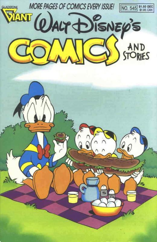 Walt Disney's Comics and Stories #545 VF/NM; Dell | save on shipping - details i