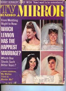 TV Radio Mirror-Lennon Sisters-Linda Cristal-Phyllis Diller-Nov-1968