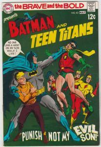 Brave and the Bold, The #83 (May-69) VF+ High-Grade Batman, Teen Titans (Robi...