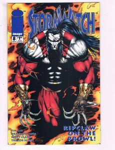 Stormwatch #8 VF Image Comics Comic Book DE19