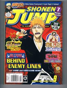 Shonen Jump # 9 Viz Media Magazine Hi-Res Scans Awesome Magazine WOW!!!!!!!!! T1