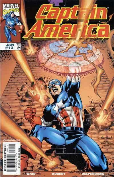 Captain America (3rd Series) #13 VF/NM; Marvel | save on shipping - details insi