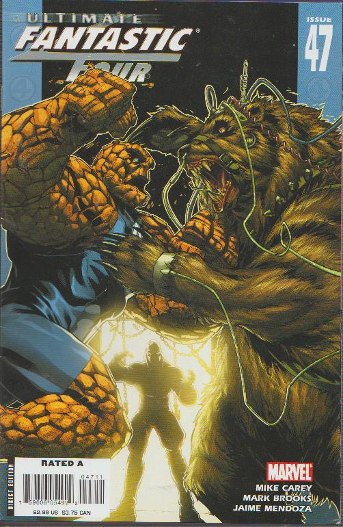 SALE! ULTIMATE FANTASTIC FOUR #47 - MARVEL - BAGGED & BOARDED
