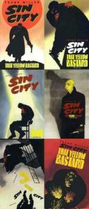 SIN CITY THAT YELLOW BASTARD (1996 DH) 1-6 Frank Miller