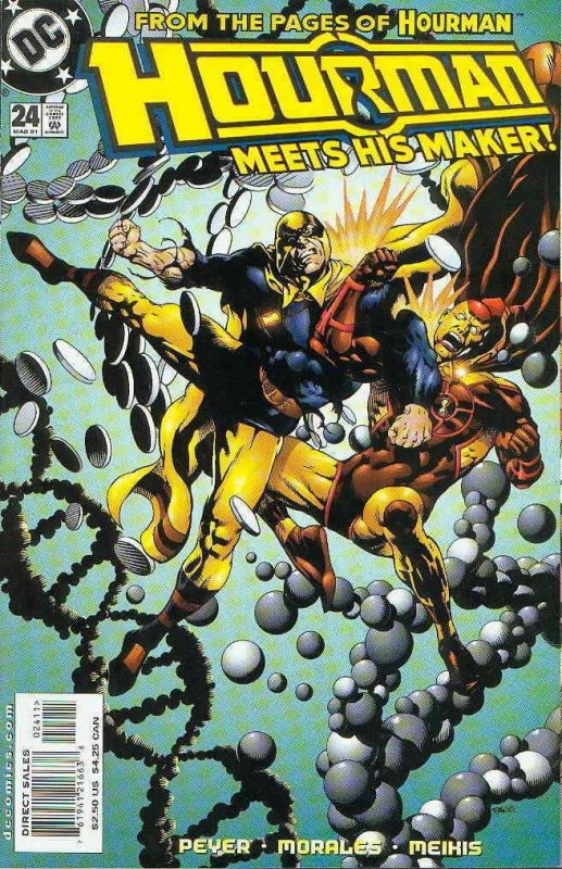 Hourman #24 FN; DC | save on shipping - details inside