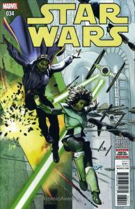 Star Wars (2nd Series) #34 VF/NM; Marvel | save on shipping - details inside
