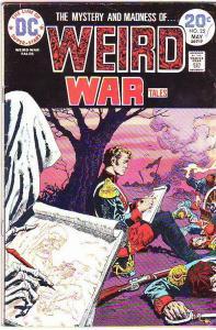 Weird War Tales #25 (May-74) FN- Mid-Grade