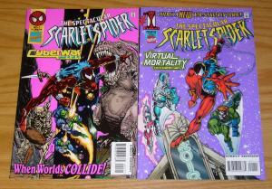 Spectacular Scarlet Spider #1-2 VF/NM complete series - todd dezago/sal buscema
