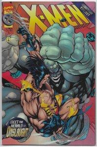 X-Men (vol. 2, 1991) # 50 (foil) FN/VF Lobdell/Andy Kubert, Herald of Onslaught