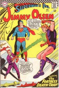 JIMMY OLSEN 97 VG-F   October 1966 COMICS BOOK