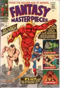 FANTASY MASTERPIECES (1966 1ST) 7 VF-NM Feb. 1967 COMICS BOOK
