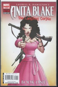 Anita Blake: The Laughing Corpse #1 (Marvel, 2008)