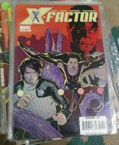 X-Factor  #  10 11 12 2006 marvel peter david xmen maddrox polaris guido mutants