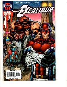 Lot Of 10 New Excalibur Marvel Comic Books # 1 2 3 4 5 6 7 (2) 8 9 X-Men CR43