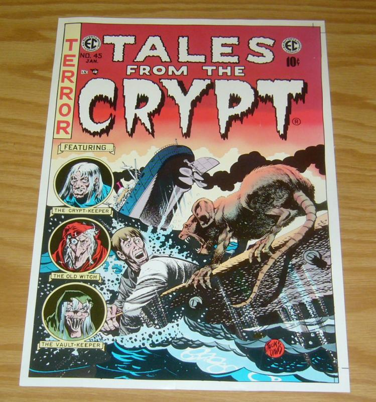 Tales From The Crypt #45 print/poster - jack davis - ec comics - approx 9 x 13