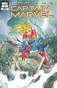 CAPTAIN MARVEL THE END #1 MOMOKO VARIANT