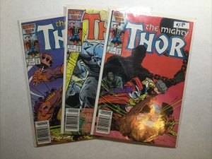 Thor 375-377 375 376 377 Lot Run Set Near Mint- Nm- 9.2 Marvel