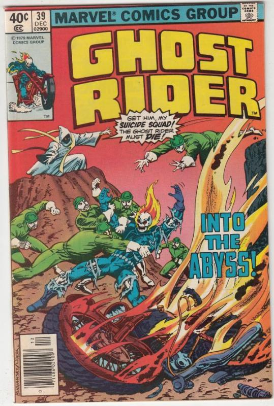 Ghost Rider, The #39 (Dec-79) VF/NM High-Grade Ghost Rider