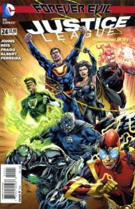 Justice League (2011 series) #24, NM + (Stock photo)