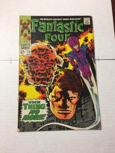 Fantastic Four 78 4.0 Vg Very Good